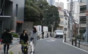 東京大神宮の前の通り