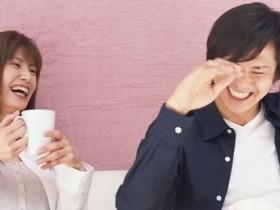 笑顔のカップル/イメージ