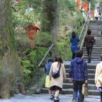 箱根神社の階段