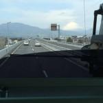 箱根へ向かう途中